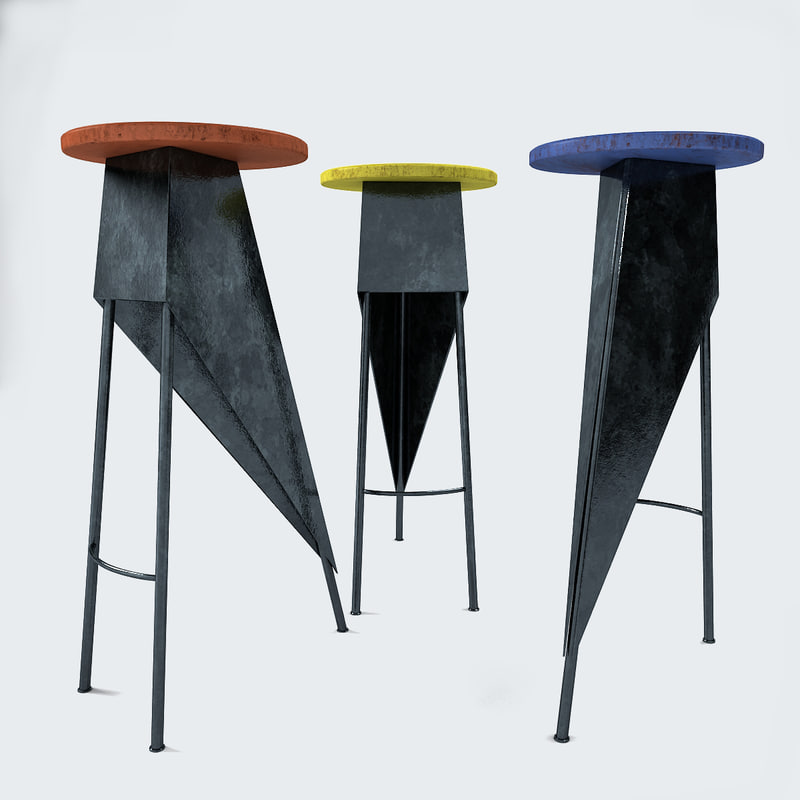Set of Stools in the Manner of Pierre Jeanneret_1.jpg