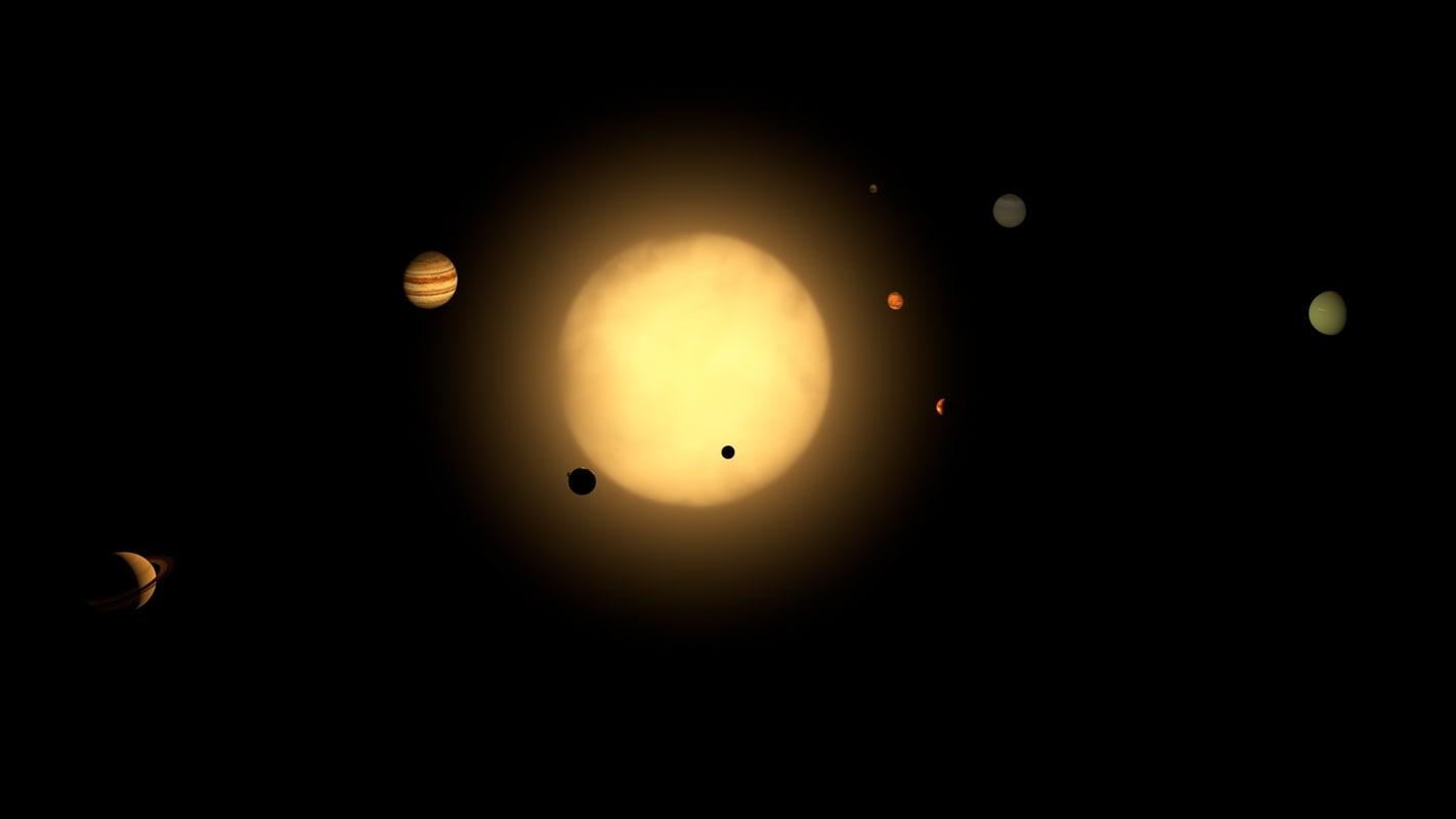 mars solar system model - photo #35
