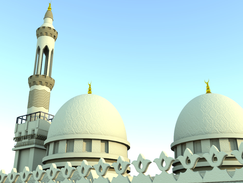 The minaret and dome vray5.bmp