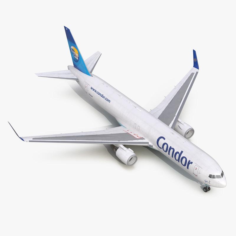 Boeing 767-300F Condor Flugdienst 3d model 00.jpg