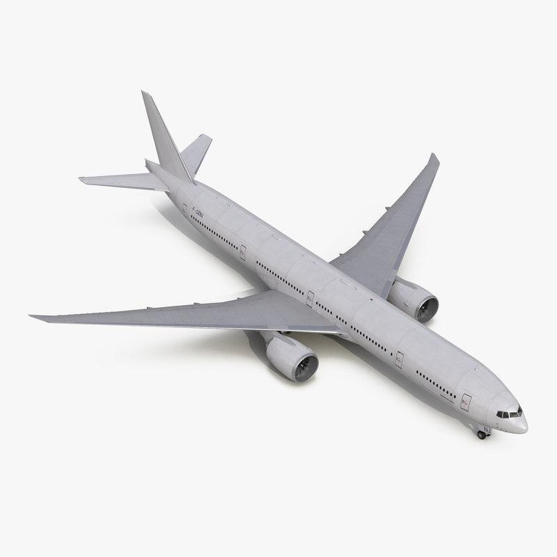 Boeing 777-300ER Generic 3d model 00.jpg