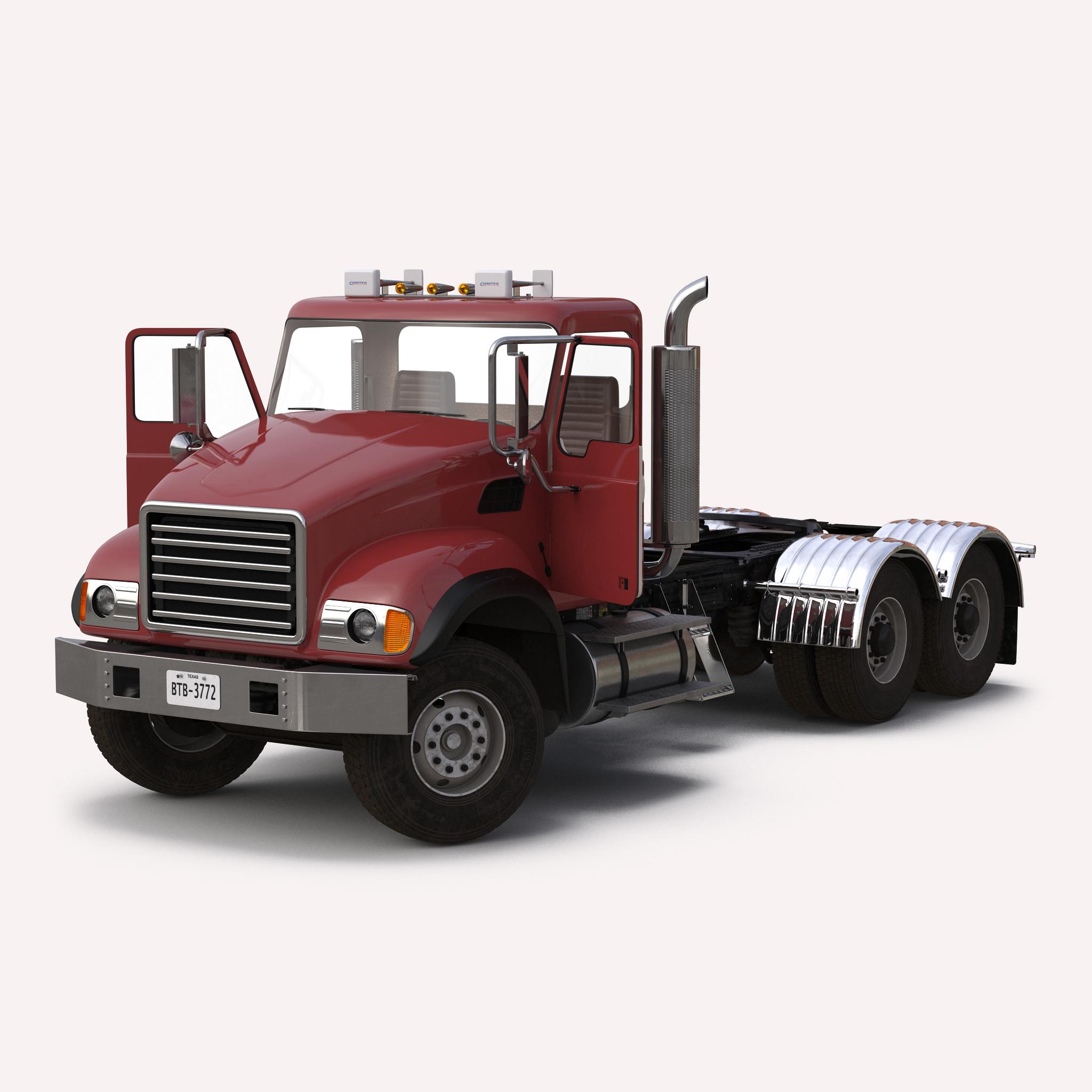 Dump Truck Generic Rigged 3dsmax vray 3d model 00.jpg
