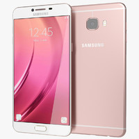 Samsung Galaxy C7 3D models