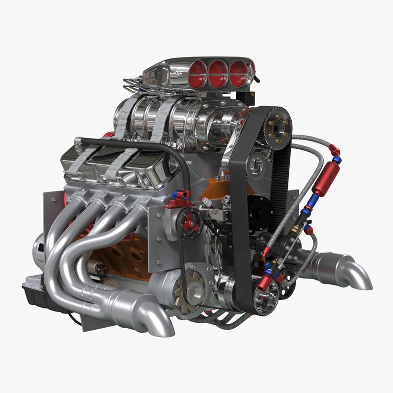 Car Engine Blower : D car engine blower model