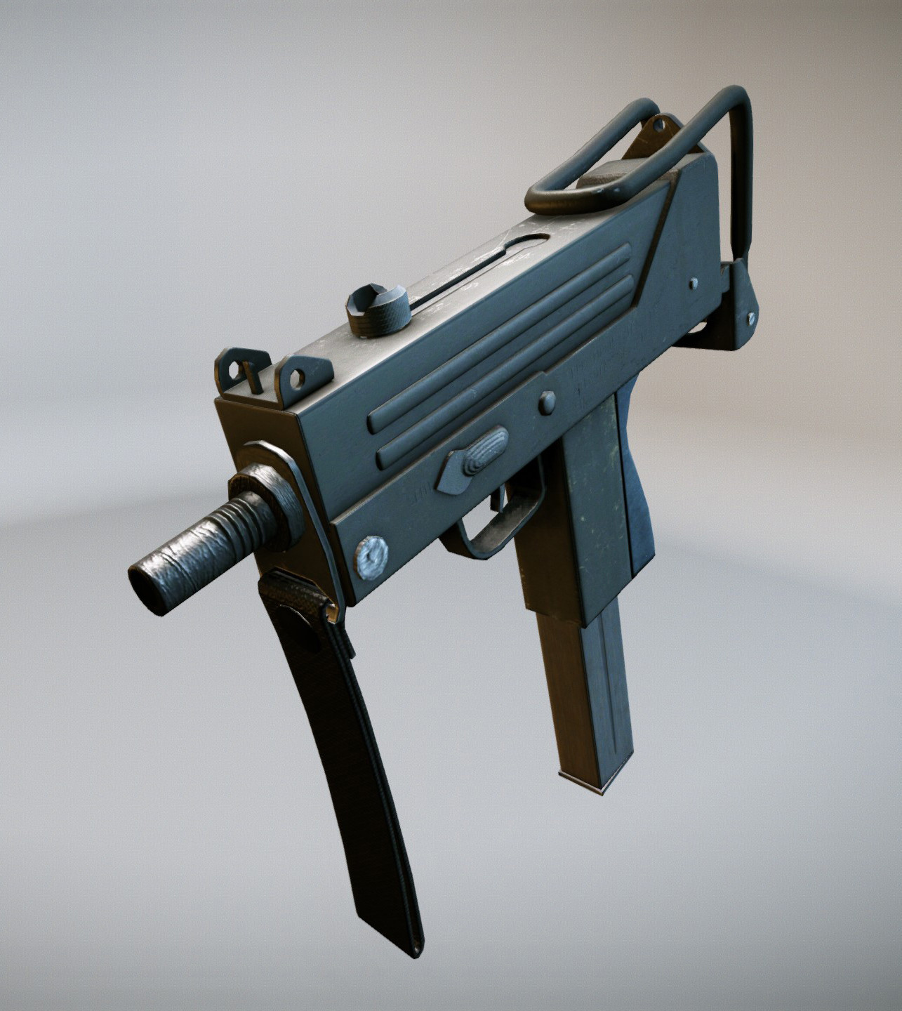Guns The Military Uses >> mac10 weapon gun 3d model