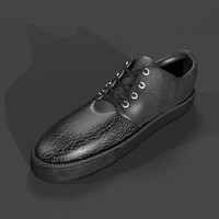 high heel sneakers 3D models