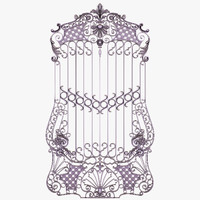 wrought iron 3D models