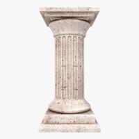doric column 3D models
