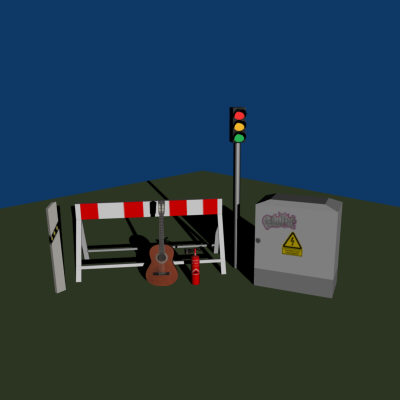 misc guitar roadblock x free - Misc. models... by Gladius.s