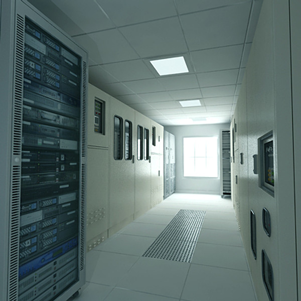 comms room 3d dxf - 3D_comms_room.zip... by Giimann
