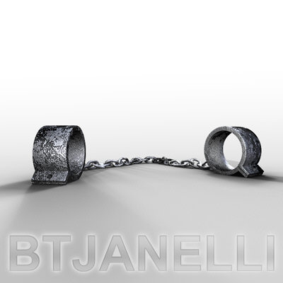 maya manacles handcuffs - btjanelli_manacles.rar... by btjanelli