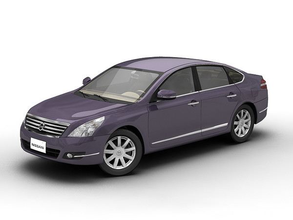 3ds nissan teana - 2008 Nissan Teana... by 3dKen