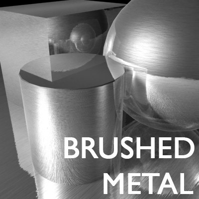 Metal Brushed High Resolution Texture Maps