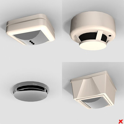max smoke detector alarm - Fire detector001_max.ZIP... by Fworx