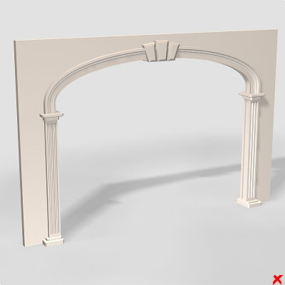 3d model arch architecture - Arch003.ZIP... by Fworx