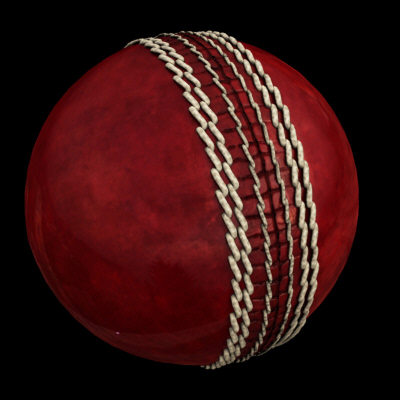 leather cricket ball 3d model - Cricket Ball, Leather... by PROTOCG