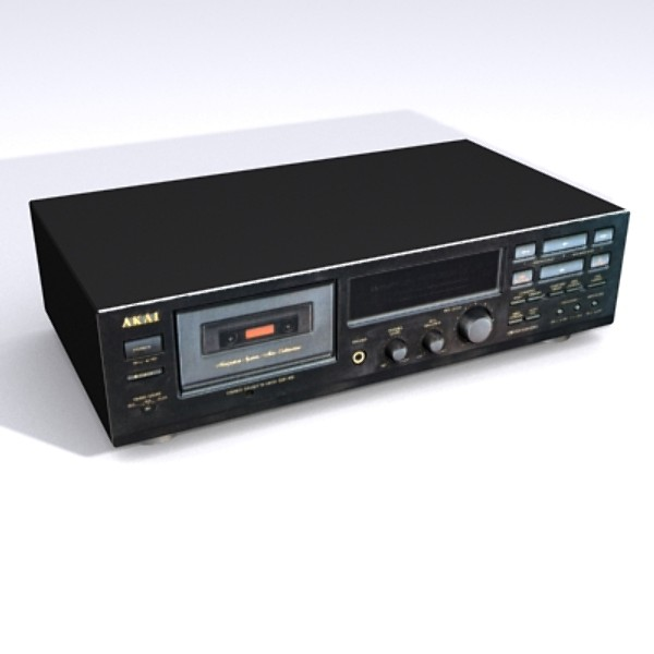 akai dx-49 3d model - akai_DX-49.zip... by 3DBUG