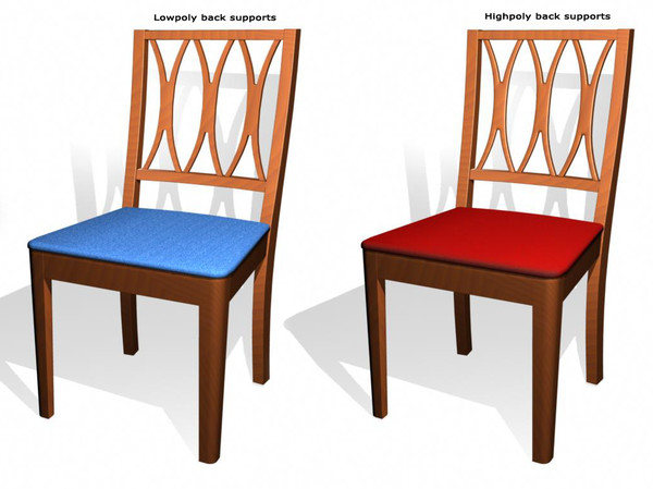 3d old chair model - oldChair.zip... by Kuroto