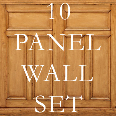 10 Wood Panel Texture Set Texture Maps