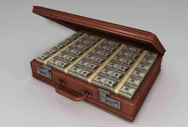 3ds briefcase money - Briefcase of Money... by MattTrout