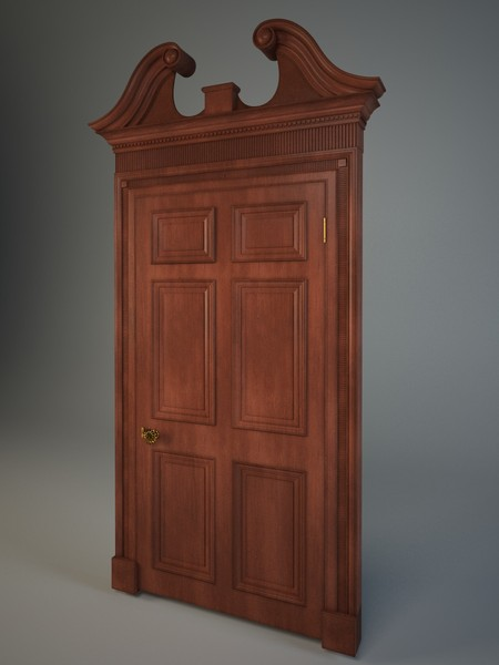 3d door model - dooer.zip... by kupfer