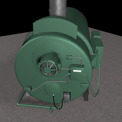 3d model boiler - boiler-max.zip... by GraphX Designs
