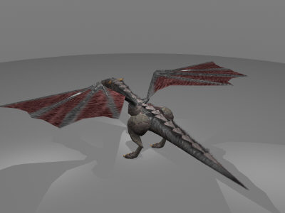 dragon bump transparency 3d obj - Dragon1_Maya.zip... by Brandon Ervin