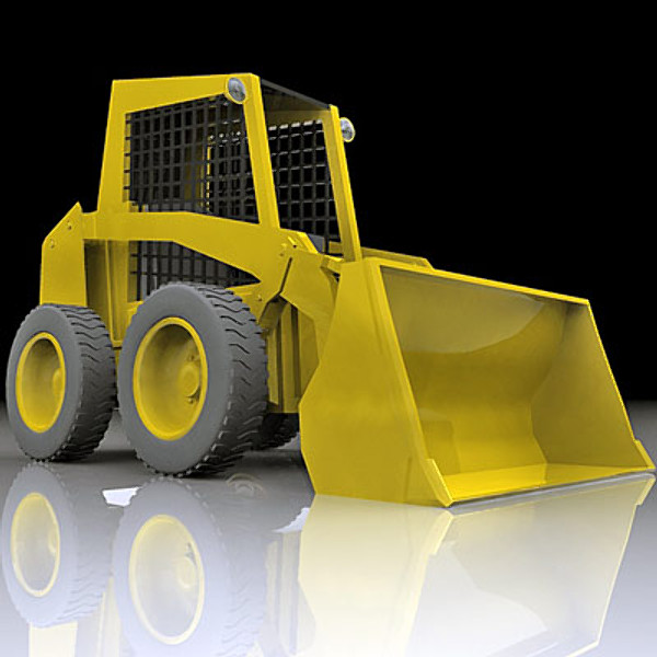 3d model skid steer - Skid steer... by QLEE
