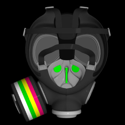 3d model gas mask - Gas Mask (3DS)... by 21st Century 3D