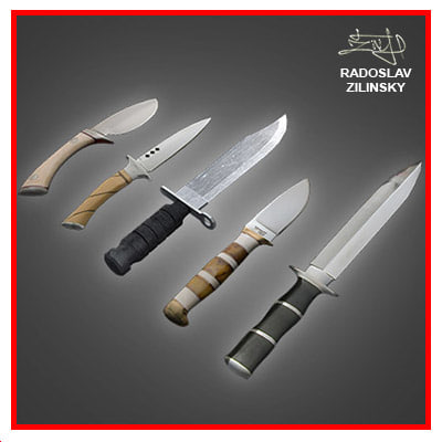 3d model of combat daggers knives pack - Dagger combat knives PACK... by radoxist