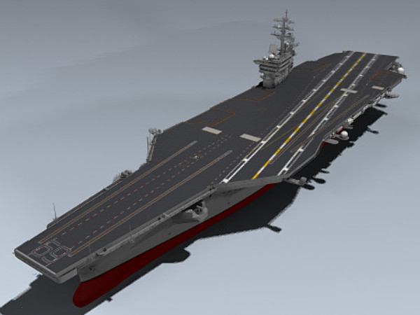 USS Dwight D. Eisenhower 3D Models