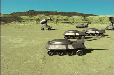 tank robotic 3d 3ds - Robot Tanks... by Infinite3dfx