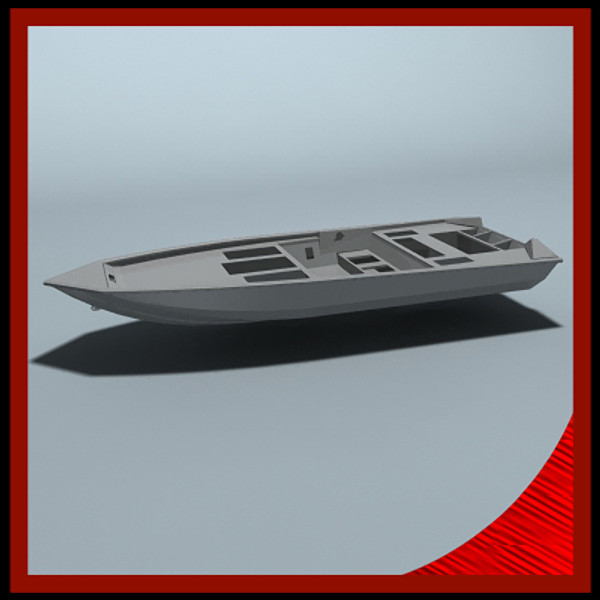 3d fishing boat parts model - Fishing boat parts... by gauthier12