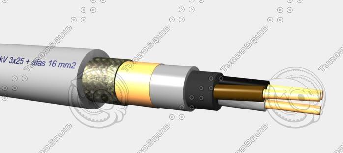 EMC mbzh 0,6-1 kV 3x16 + afas16 mm2.max
