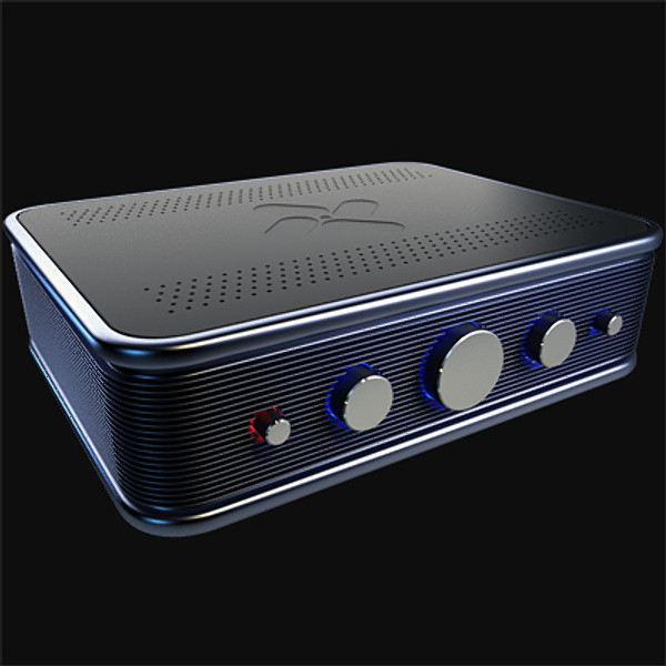 amplifier amp 3d model - Audio Amplifier... by Peter Zk