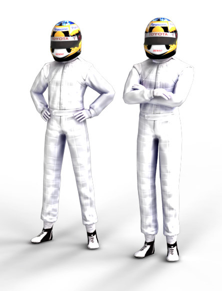 timo glock f1 driver 3d model - F1 Driver Timo Glock... by creatix