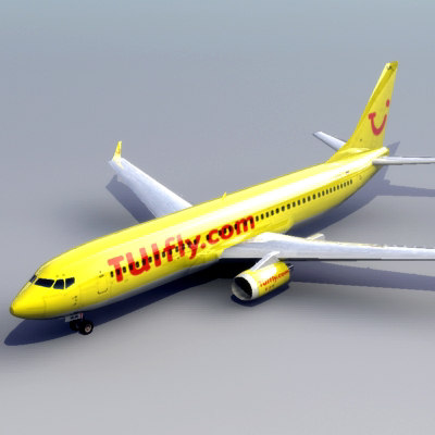 boeing 737-800 737 jet 3d model - Boeing_737-800_3DModel... by ES3DStudios