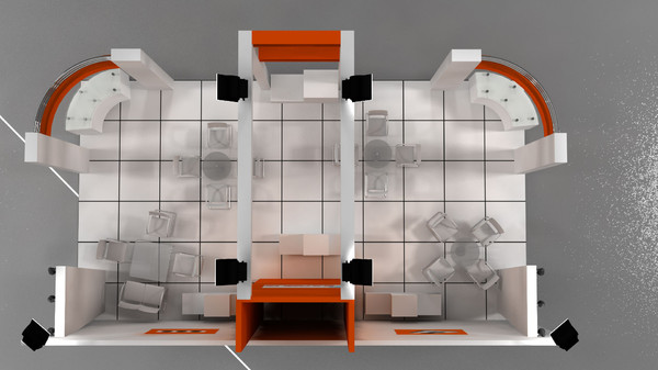 sarbuz exhibition stand design 3d model - Sarbuz exhibition stand design... by Cenkkeskin