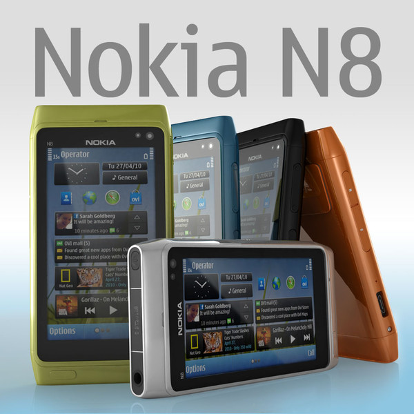 nokia n8 3d model - Nokia N8... by sweiry_tv