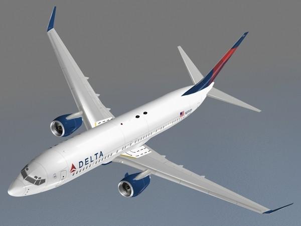 B 737-800 Delta 3D Models