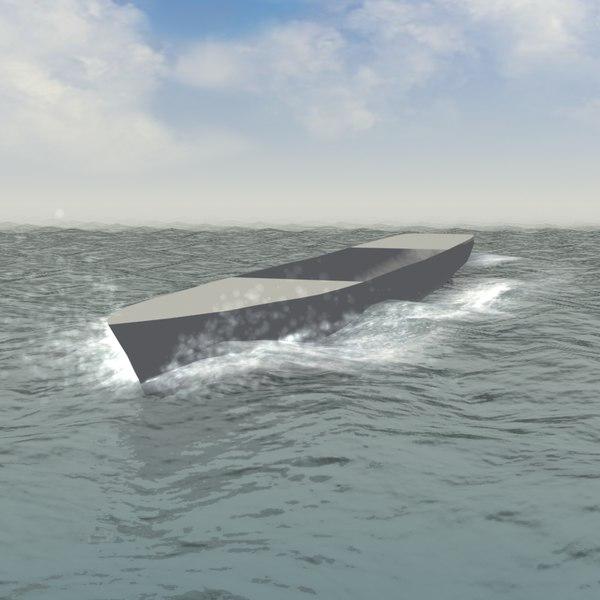 bow wake 3D models