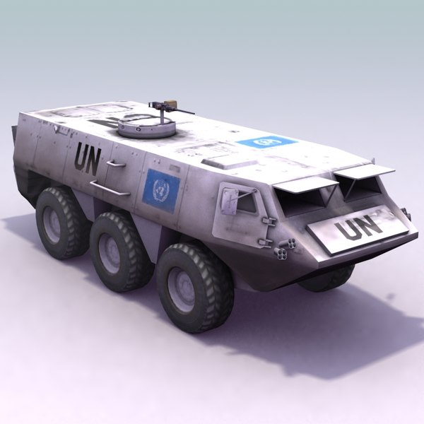 patria xa185 3d model - Patria_XA185_UN... by ES3DStudios