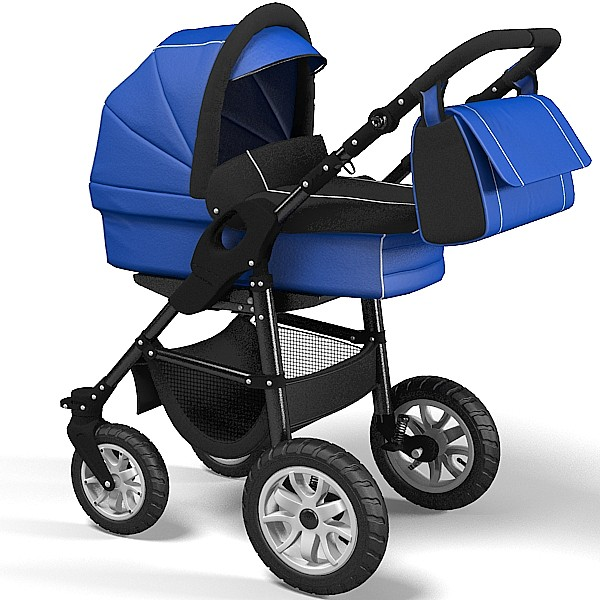 3d 3ds perambulator baby mother - perambulator  baby mother weel chair carrige stroller bugg... by archstyle