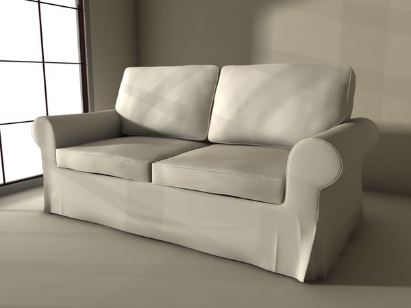 3d ikea sofa ektorp model - Ektorp ikea sofa... by yourproduct