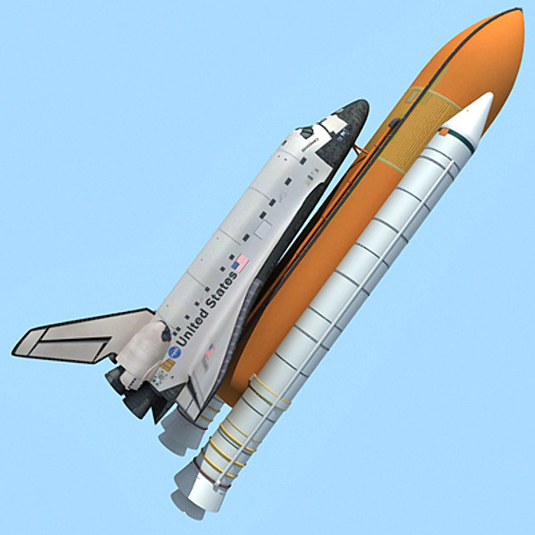 nasa space shuttle discovery obj - Discovery Shuttle... by Gandoza