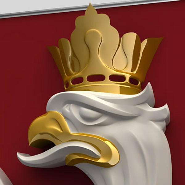 coat arms poland 3d model - Coat of armsl of Poland... by Igor Yakovlev