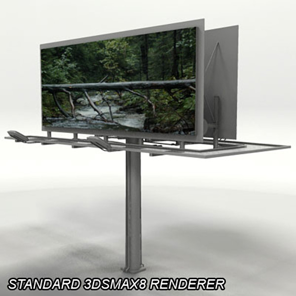standard space 3d max - Billboard I... by QLEE