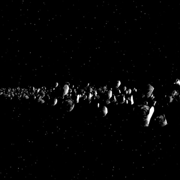 Asteroid Belt Animation (page 2) - Pics about space