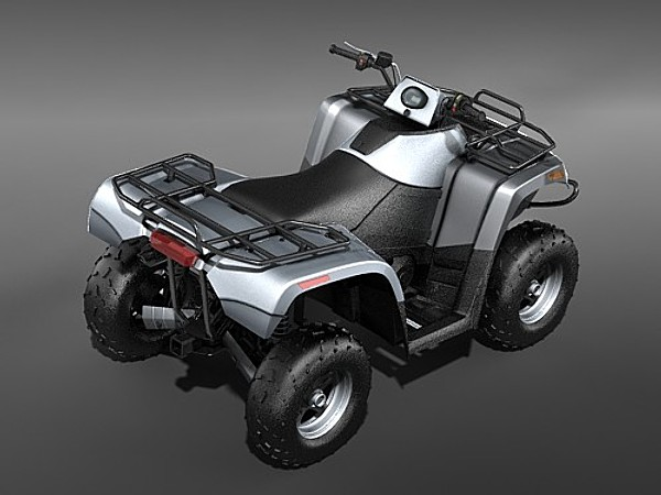 3d atv quad ac700 arctic model - ATV QUAD Arctic Cat AC700... by squir