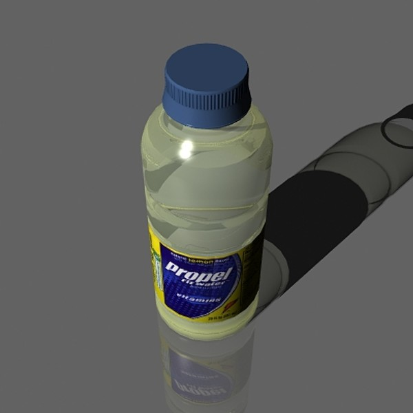 3d model water bottle - Water Bottle... by mostlysquare
